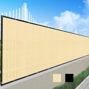 Yescom Fence Screen 90% Privacy Windscreen Fencing Mesh 4'x25'