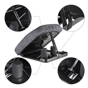Yescom Lifting Cushion Elderly Portable Uplift Seat Hydraulic Spring