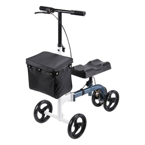 Yescom Steerable Knee Walker Scooter with Basket
