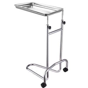 Yescom Mayo Stand Foot Operated Medical Equipment Double Post