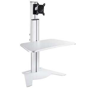 Yescom Adjustable Single-Monitor Sit Stand Desk Converter