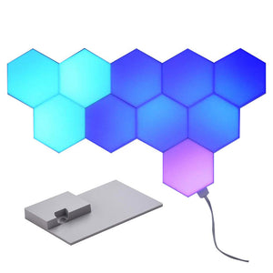 LifeSmart LED Smart Light Panels 10pcs Tabletop/ Wallmount