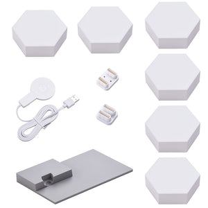 LifeSmart LED Smart Light Panels 6X w/ Base - Aurora Rhythm Smarter Kit