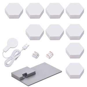 LifeSmart LED Smart Light Panels 9X w/ Base - Aurora Rhythm Smarter Kit