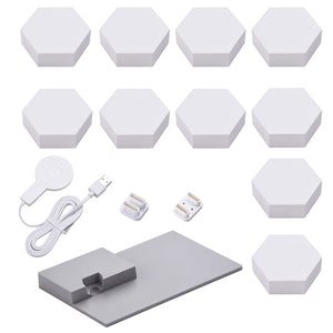 LifeSmart LED Smart Light Panels 10X w/ Base - Aurora Rhythm Smarter Kit