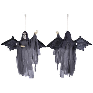 Yescom Animated Skeleton Props w/ Wings Sound Activated Lighted