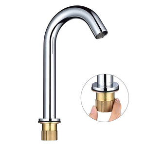 Aquaterior Motion Sensor Touchless Faucet Hot & Cold