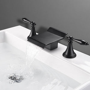 Yescom 2-handle Widespread Bathtub Faucet Finish Color Opt