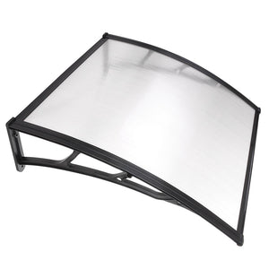 (AU) Window Awning Polycarbonate Door Awning 1x1m