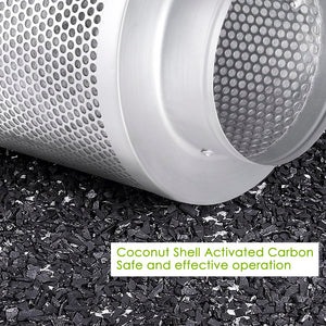 "Yescom Coconut Activated Charcoal Carbon Filter Purifier 6""x 22"""