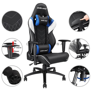 Anda Seat Racing Gaming Chair Highback, Ergonomic, Pillow, Cushion AD4