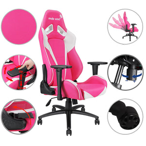 Anda Seat 3D Arms Game Chair Highback Ergonomic Pillow Cushion 330lbs
