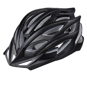 In-mold Bike Helmet CPSC w/ LED Light Cycling Helmet 56-61cm