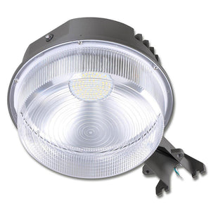 Yescom Outdoor LED Barn Light Dusk-to-Dawn with Photocell 50w 6250lm