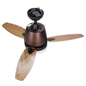 "Yescom 42"" Ceiling Fan w/ Light Remote 3-Blade"