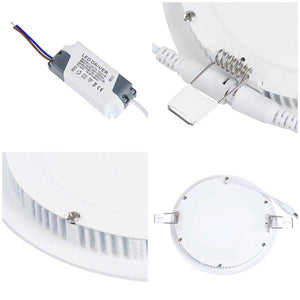 Yescom 15W SMD LED Recessed Ceiling Light w/ Driver Warm White