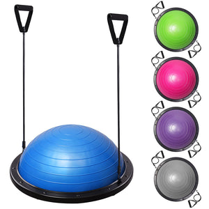 (UK) Balance Ball Trainer Yoga Wobble Board Home Fitness