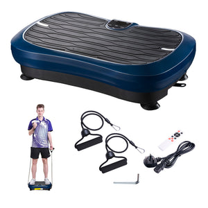 (UK) Vibration Plate Crazy Fitness Platform Body Shaker Machine