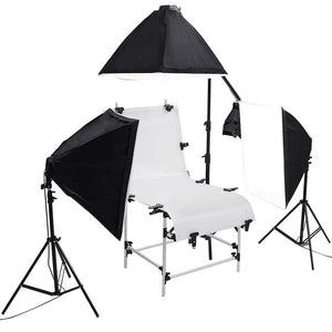 Yescom Photo Shooting Table 12x 45w Studio Constant Lighting Kit