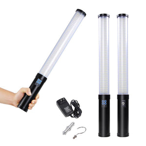 516LED Bi-Color Wrap-Around Handheld Dimmable LED light