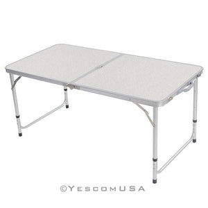 4' Fold-in-Half Camp Table Outdoor Picnic