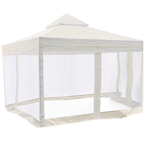 10' x 10' Ivory Canopy Replacement Top with Net