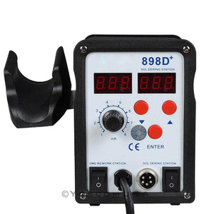 Digital Hot Air Rework SMT SMD Soldering Station Unit