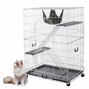 Wire Pet Cages Cat Crate Playpen Hammock