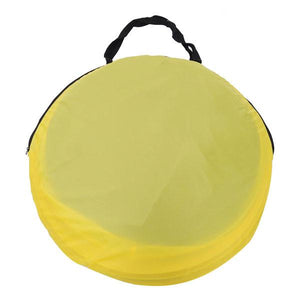 Popup Beach Tent Portable Camping Shelter Yellow