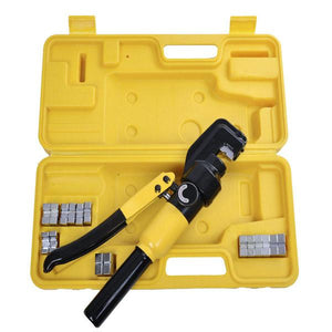 8 Ton 9 Pcs Hydraulic Cable Terminal Wire Crimping Tool