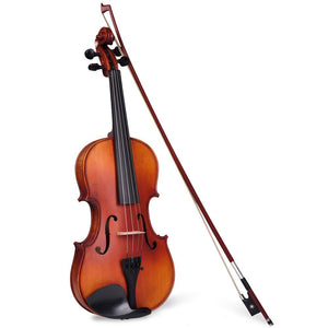 Vif Full Size Violin Advanced Student Fiddle w/ Bow Case Set A