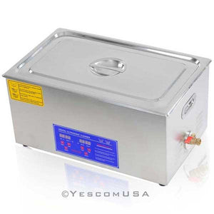 22L Stainless Steel Digital Ultrasonic Cleaner Machine