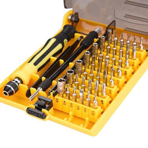 45 Pcs in 1 Screwdriver Set w/ 42 Insert Bits