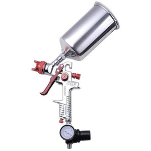 Automotive Paint Sprayer Gavity Feed HVLP Spray Gun 1.3mm