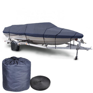 20'-22' V-Hull Watercraft Fish Ski Trailerable Boat Cover
