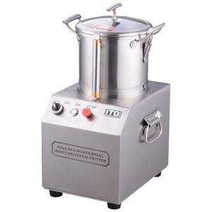 12-Cup 3L Stainless Steel Food Processor Chopper Grinder