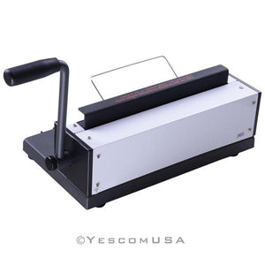 34 Square Holes 120 Sheets Punching Binding Machine