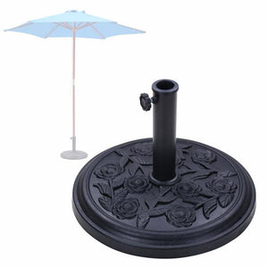 European Style Outdoor Patio Umbrella Base Stand 20Lb