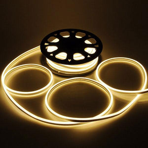Flex LED Neon Rope Light Decorative Lighting 50ft Warm White