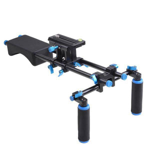 Yescom DSLR Camera Shoulder Mount Support Stabilizer Photo Video