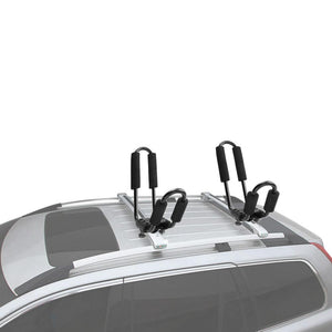 2x J Style Kayak Carrier Rack Canoe Boat Roof Top Mount Car SUV