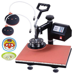 Yescom Digital Heat Press 7in1 12x15 Sublimation Transfer Machine Black
