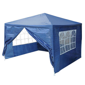 Yescom 10' x 10' Outdoor Wedding Party Tent 4 Sidewalls Blue