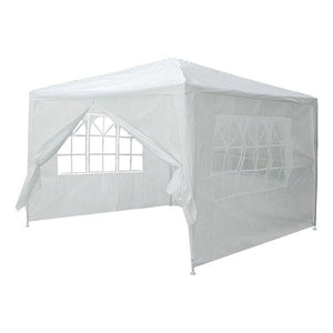 Yescom 10' x 10' Outdoor Wedding Party Tent 4 Sidewalls White