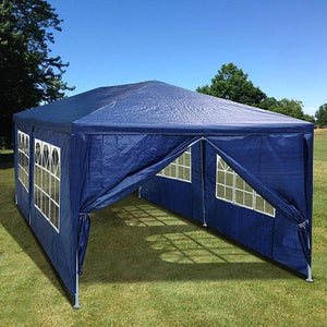 Yescom 10' x 20' Outdoor Wedding Party Tent 6 Sidewalls Blue
