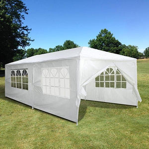 Yescom 10' x 20' Outdoor Wedding Party Tent 6 Sidewalls White