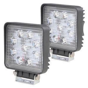 2pcs 27w Car Off Road LED Work Flood Light Bar Truck