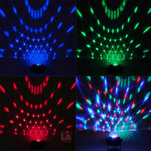 Yescom RGB Magic Ball Party Stage Lights Voice Control 2pcs