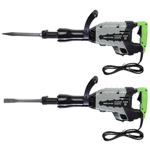 2200W Electric Jackhammer Demolition Concrete Breaker Case Set