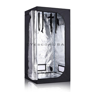 "36""x36""x70"" Indoor Reflective Mylar Hydroponic Plant Grow Tent"